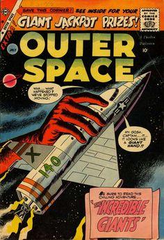 Outer Space v3 #23 (Charlton Comics) - Comic Book Plus