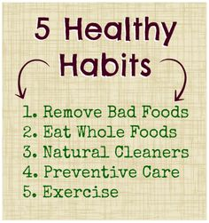 5 Healthy Habits for You & Your Family - Holiday Edition