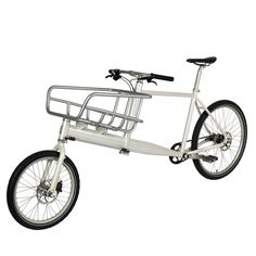 KiBiSi claims to have designed the first lightweight cargo bicycle tailored to the needs of city commuters, for Danish manufacturer Biomega