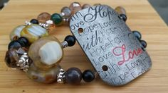 Check out this item in my Etsy shop https://www.etsy.com/listing/241110018/boho-beaded-bracelet-affirmation