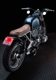 BMW R100 Brat Style by Jerikan Motorcycles #motorcycles #bratstyle #motos | caferacerpasion.com