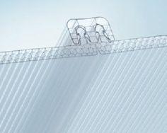 Polycarbonat-Platte / Stegplatten / für Platten SUN CLICK® AKRAPLAST