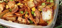 Kínai pirított tészta (387 kcal)