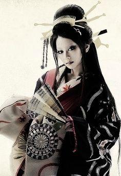 """SEVEN SOULS IN THE SKULL CASTLE""-EikoKoike  modern oiran style"