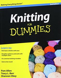 Knitting For Dummies *** Click image to review more details.