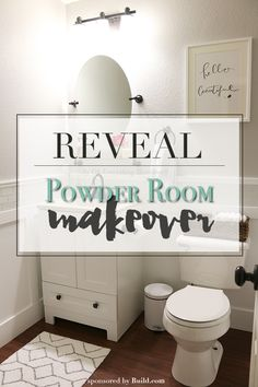 Powder Room Reveal-Featured