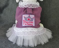 Dog Clothes Pet Dress with Tutu Size X Small Harness Dress Dog - Cat - Ferret Dog Clothes Pet Harness Dress with Tutu Purple Suede with Matching Tutu Small Dog Dress Details: Formal Wedding Attire, Dog Wedding Attire, Large Dog Clothes, Animal Clothes, Ferret Clothes, Tutu, Dog Tuxedo, Pet Sweaters, Black And White Tuxedo