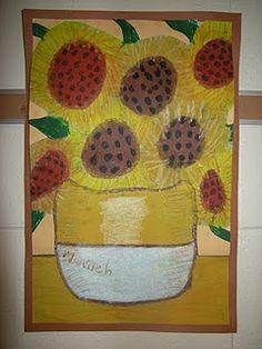 oil pastel ...Van gogh   # Pin++ for Pinterest #