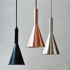The Beacon Lighting LEDlux Canteen 650 lumen dimmable LED pendant in copper.