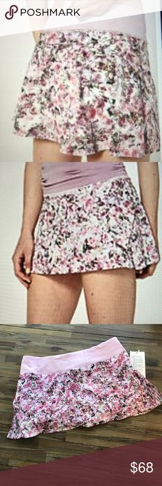 744d65493e Lululemon Play Off The Pleats Skirt NWT Lululemon Play Off The Pleats Skirt  NWT In super trendy Blossom Spritz pattern. Bundle items from my closet to  save!