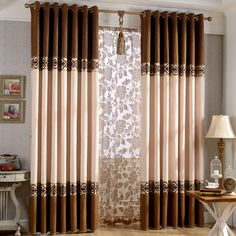 Cheap curtain heads, Buy Quality curtains blue directly from China curtain prices Suppliers: Home Decoration sheer stitching jacquard chenille Blinds curtain Tulle Curtain For Living Room set sheer curtains for wi