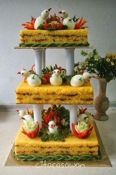 10 Best Food Pulut Kuning Images Glutinous Rice Food Cake
