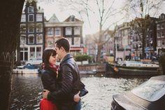 Engagement ~ Tina & Marius ~ Amsterdam » Fotografie de Nunta si Portret