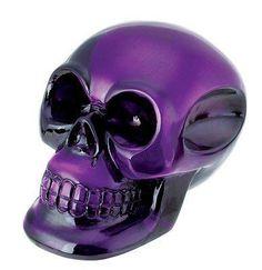 Translucent Purple Crystal Skull