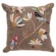 I pinned this Oiseau Pillow from the merben event at Joss and Main!...I love this design
