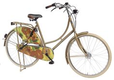 Most popular bike in Amsterdam! An art bike! The famous painting Sunflowers by Vincent van Gogh on a classic Dutch quality bike. For sale on http://shop.artbikes.nl