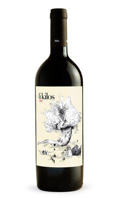 4 kilos 2007 wine / vinho / vino mxm #vinosmaximum
