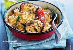 Gratin d'aubergines à la sicilienne