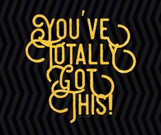 Just in case you were wondering. You've totally got this! Just Do It, Just In Case, Company Logo, School, Free