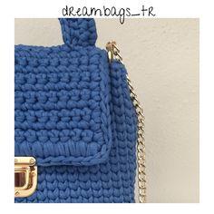 Macaron bag Crossbody bag Shoulder bag Day bag Blue bag   Etsy Yarn Bag, Blue Shoulder Bags, Handmade Items, Handmade Gifts, Blue Bags, Chanel Boy Bag, Macarons, Marketing And Advertising, Crossbody Bag
