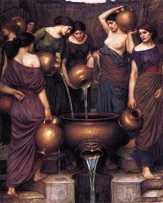 John William Waterhouse - The Danaides