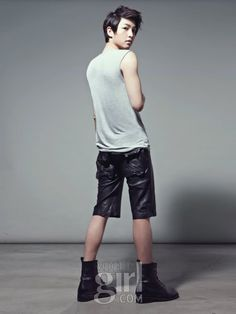 "Song Joong ki : Elle Korea : 2010.Apr ""Boy to Man"""