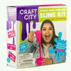 Karina Garcia Diy Slime Kit- Craft City Source by . Glow Stick Jars, Glow Sticks, Slime Craft, Diy Slime, Holiday Gift Guide, Holiday Gifts, Karina Garcia, Tween Girl Gifts, Tween Girls