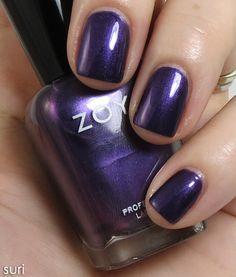Suri by ZOYA Diva Metallic Collection for NYFW Fall 2012 | Beauty Junkies Unite