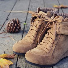 Thru the Woods Booties: Perfect for fall