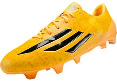 adidas Messi F50 adiZero FG Soccer Cleats - Solar Gold...At SoccerPro now!