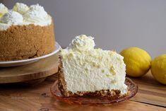 Tarta fría o pie de mousse de limón y leche condensada ¡sin horno! - Antojo en tu cocina