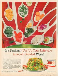 Retro Jello Ad (This sounds like a terrible idea)