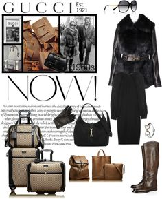 """""""Gucci - Est. 1921 - Icons of Heritage with Gucci"""" by riquee ❤ liked on Polyvore"""