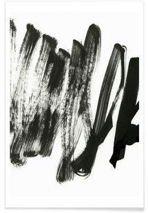 Black On White - Iris Lehnhardt - Premium Poster