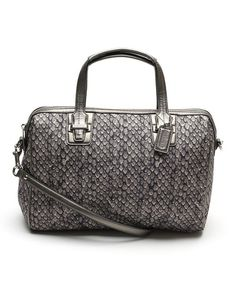 This Silver Taylor Snake Satchel by Coach is perfect! #zulilyfinds