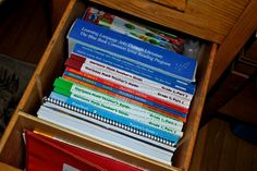 book drawers