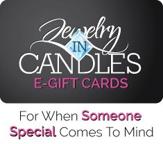 Find the perfect gift for someone special, a candle with a piece of jewelry (ring, necklace or earrings) inside the candle. The jewelry is worth any wheres from $10-$5000!