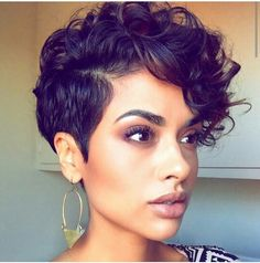Curly Hairstyles 21 Fabulous Curly Pixie Cuts & Wavy Pixie Cuts for Short Hair Short Curly Pixie Cuts & Wavy Pixie Cuts for black Women Curly Pixie Haircuts, Curly Pixie Cuts, Short Curly Wigs, Straight Hairstyles, Girl Hairstyles, Short Wavy, Shag Hairstyles, Layered Hairstyles, Black Short Hairstyles