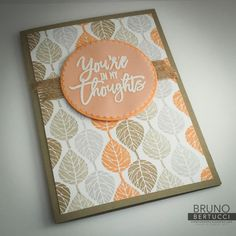 Today, this blog hop features the EXCLUSIVE, LIMITED-TIME BUNDLE named 'Thoughtful Branches.' This group is called the Stamp Review Crew. This is a group of stamping enthusiasts - each blog hop features ONE STAMP SET, thus showing how versatile that particular set it.
