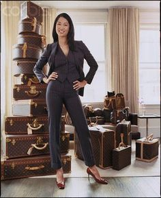 Kimora lee Simmons LV collection of suitcases  #louisvuitton #suitcases