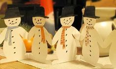 En blogg med skapligt enkla pyssel för hemmabruk och i barngrupper. Christmas Hacks, Homemade Christmas Cards, Christmas Gift Wrapping, Christmas Crafts For Kids, Christmas Snowman, Christmas Angels, Kids Crafts, Christmas Time, Diy And Crafts