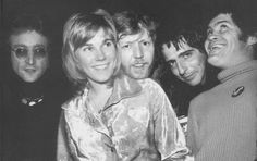 John Lennon, Anne Murray, Harry Nilsson, Alice Cooper and Mickey Dolenz whoop it up at the Troubadour.