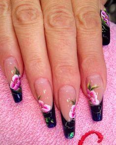 Nail art Gabo crystal nails