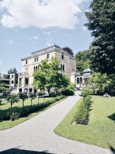Il giardino di Villa Patumbah a Zurigo