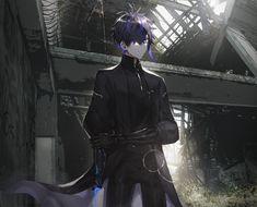 Dark Anime Guys, Cool Anime Guys, Cute Anime Boy, Anime Boys, Japonese Girl, Maou Sama, Superhero Villains, Boy Character, Anime Artwork