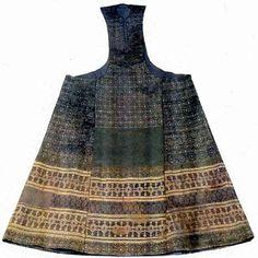 "Sideless Surcoat of Lenora Aragorn early 1300's ""Pellote of Leonora de Castille"""