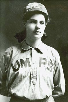 Amanda Clement, at the age of 16, became the country's first paid female umpire when she called a semi-pro game in 1904. Follow the link for her story!