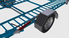 ram design hydraulic car trailer