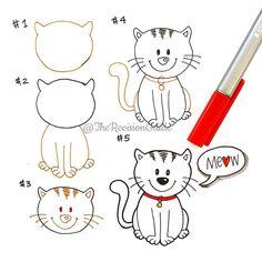 Meow! # # #meow  #TRG_RandomDoodle  . . . . . . #doodle #doodleaday #howtodoodle #howtodraw #kitten #cat #catssofinstagram #cutecat #cuteanimals  #cute #kawaii  #studying #studyblr #studytime #studygram  #studymotivation #studyspo #studyinspiration  #planner  #plannercommunity #plannergirl  #plannerdoodle #bulletjournal #bujo #mystaedtler @staetriplus @staedtlermars #arts_gallery @arts__gallery by therevisionguide