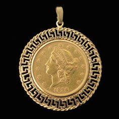 Argent six pence argent sterling Collier Pendentif Pièce Mount Holder-Findings